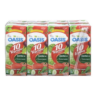 OASIS COCKTAIL 10 LÉGUMES 8x200 ML