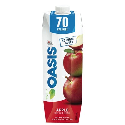 OASIS JUS POMME 70 CALORIES 960 ML