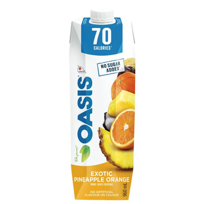 OASIS JUS ANANAS ORANGE 70 CAL  960 ML