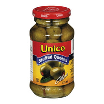 UNICO OLIVES FARCIES QUEEN 375 ML