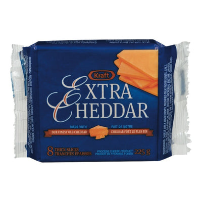 KRAFT FROMAGE TRANCHE CHEDDAR EXTRA(8) 225 G