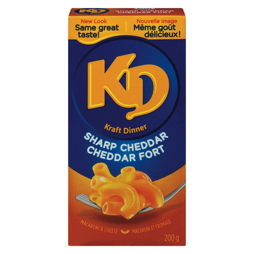 KRAFT DINNER DINER MACARONI CHEDDAR FORT  200 G