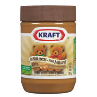 KRAFT BEURRE D'ARACHIDE NATUREL 750 G