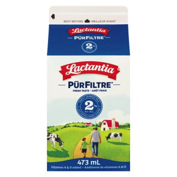 LACTANTIA LAIT 2% 473 ML