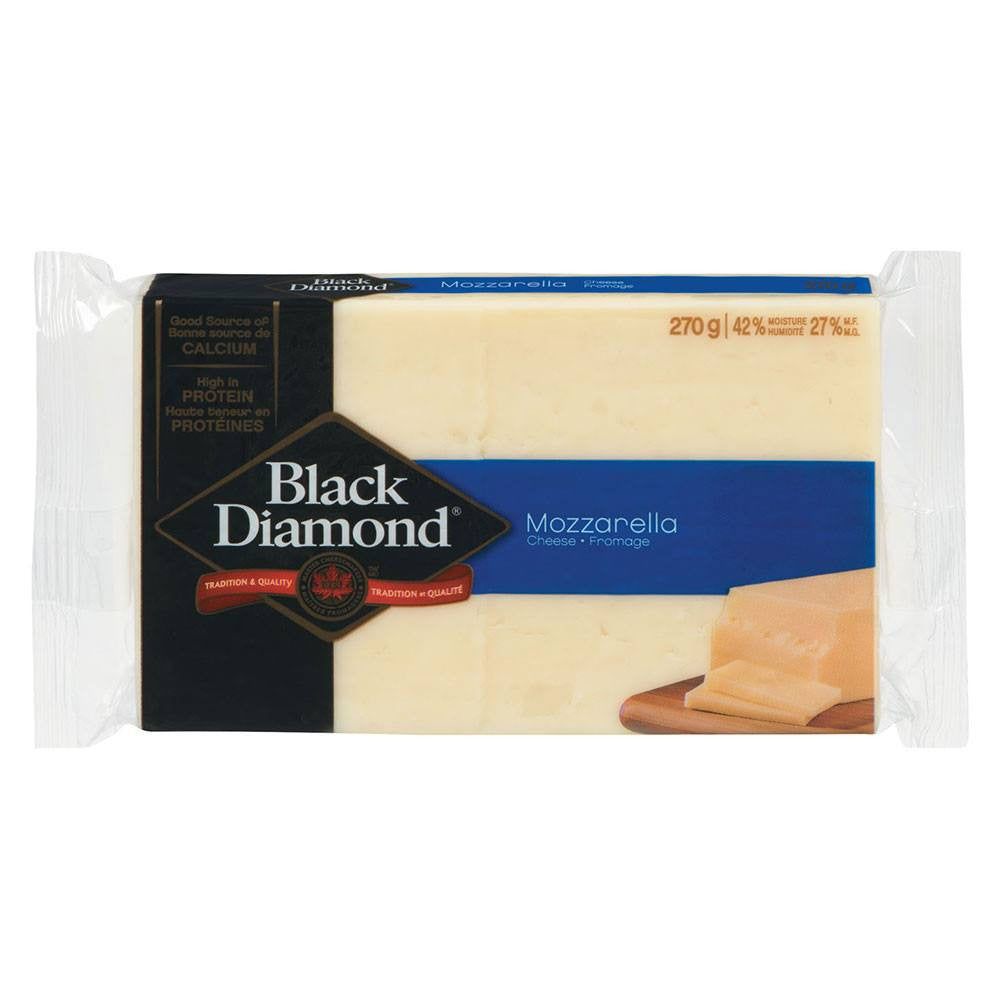 BLACK DIAMOND FROMAGE MOZZARELLA 270 G