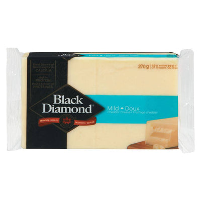 BLACK DIAMOND FROMAGE CHEDDAR BLANC DOUX 270 G