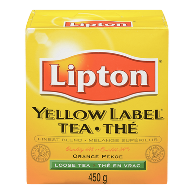 LIPTON THÉ YELLOW LABEL 454 G