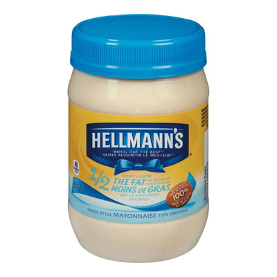 HELLMANN'S MAYONNAISE LEGERE 445 ML