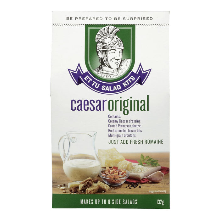 ET TU SALAD KITS KIT A SALADE CESAR ORIGINALE 132 G