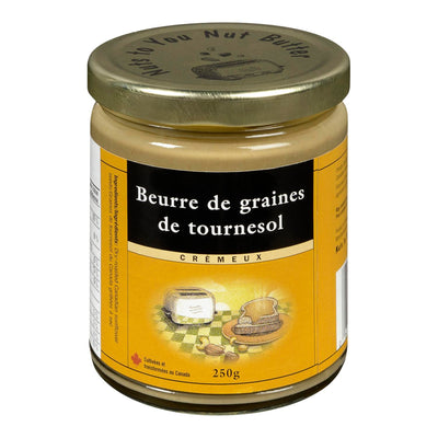 NUTS TO YOU NUT BUTTER INC BEURRE GRAINES DE TOURNESOL 250 G