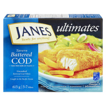 JANES ULTIMATES MORUE FILETS PATE TAVERNE 615 G