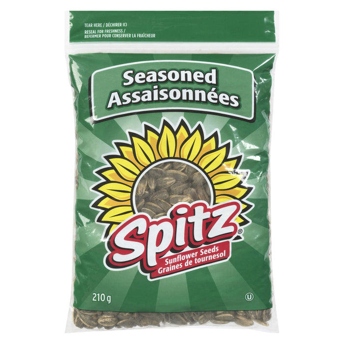 SPITZ GRAINES DE TOURNESOL ASSAISONNEES 210 G