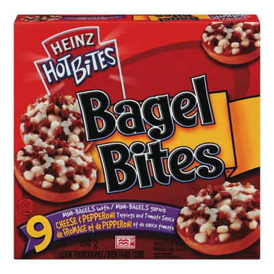 HEINZ BAGEL BITES FROMAGE PEPPERONI 198 G