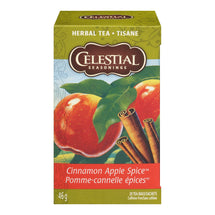 CELESTIAL SEASONINGS, TISANE POMME-CANNELLE ÉPICES, 20 SACHETS