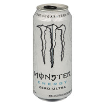 MONSTER BOISSON ENERGETIQUE ZERO ULTRA, 473 ML