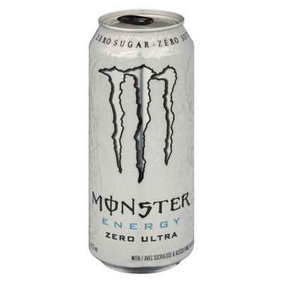 MONSTER BOISSON ENERGETIQUE ZERO ULTRA 473 ML