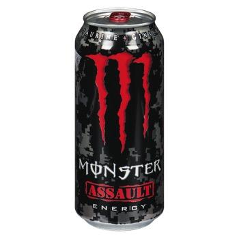MONSTER BOISSON ENERGETIQUE ASSAULT 473 ML