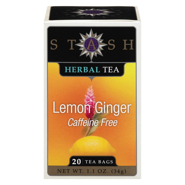 STASH TISANE CITRON GINGEMBRE 20 UN