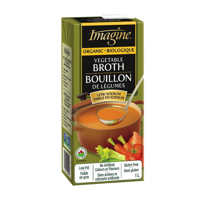 IMAGINE BOUILLON LÉGUME FAIBLE SODIUM 1 L