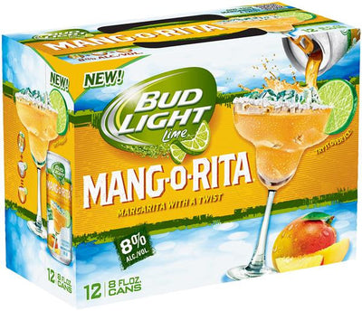 BUD LIGHT MANG-O-RITA  12X236 ML