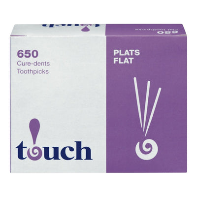 TOUCH CURE-DENTRIFRICE PLAT BOITE 650 UN