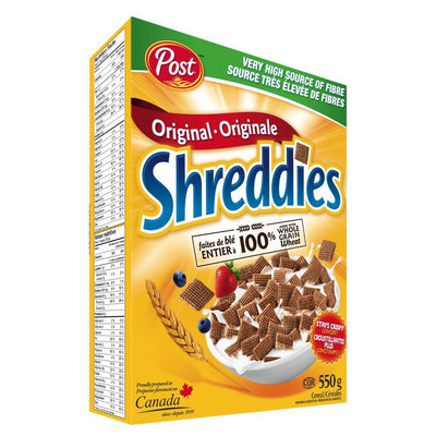 POST CÉRÉALES SHREDDIES 550 G