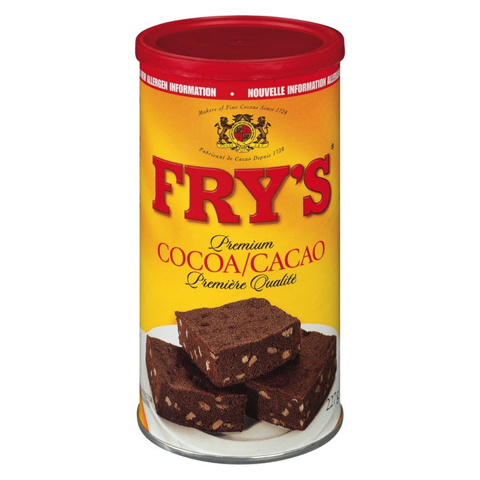 FRY'S CACAO CHOCOLAT À  CUIRE 227 G