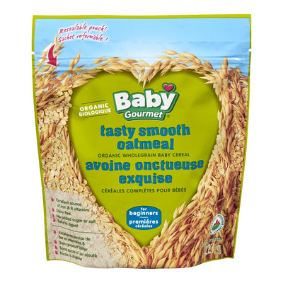 BABY GOURMET CEREALES BEBES AVOINE ONCTUEUSE EXQUISE BIOLOGIQUE 227 G