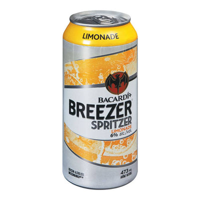 BACARDI BREEZER SPRITZER LIMONADE 473 ML