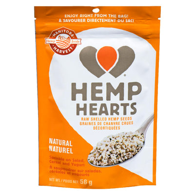 MANITOBA HARVEST HEMP HEARTS CHANVRE GRAINES NATUREL 56 G