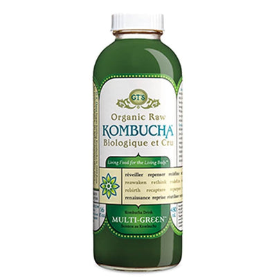 GT'S KOMBUCHA MULTI-GREEN CRU BIO 473 ML