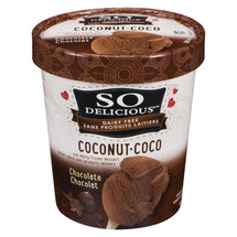 SO DELICIOUS DESSERT GLACÉ LAIT DE COCO & CHOC., 500ML