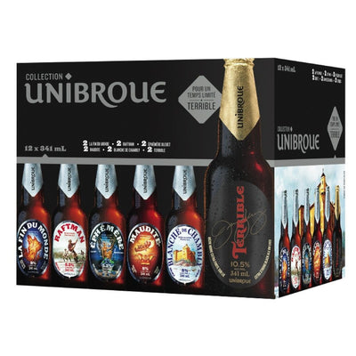 UNIBROUE BIÈRE COLLECTION 12X341 ML