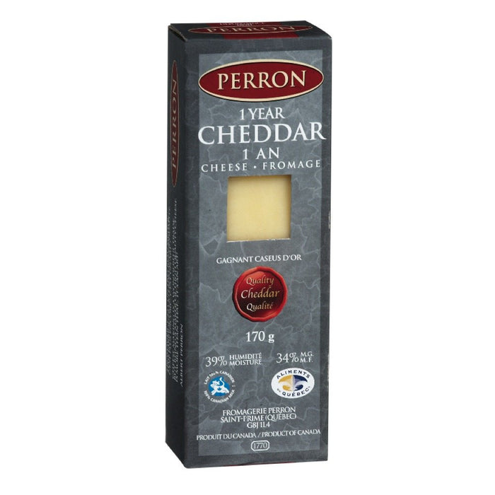 PERRON FROMAGE CHEDDAR AGE 1 AN 170 G