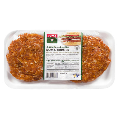 ROMA GALETTES SAUCISSE ITALIENNE 440 G
