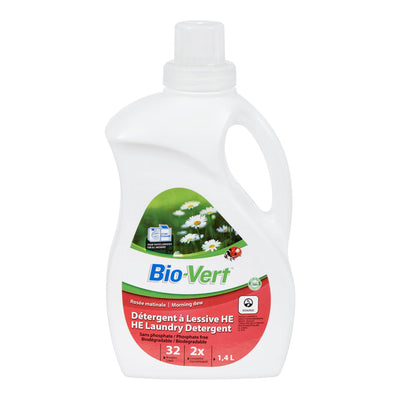 BIO VERT DETERGENT A LESSIVE ROSEE MATINALE 1.4 L