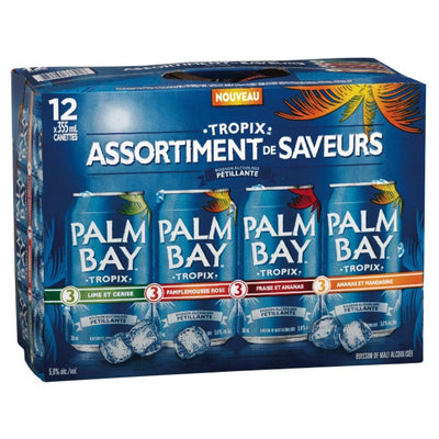 PALM BAY TROPIX MIXTE  12X355 ML