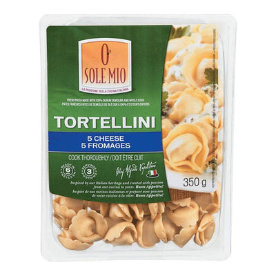 O SOLE MIO PÂTES FRAICHES TORTELLINI 5 FROMAGES 350 G