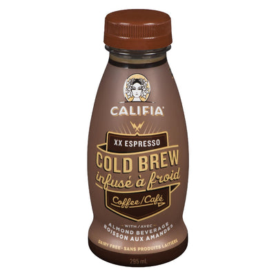 CALIFIA FARMS CAFE INFUSE AMANDES XX ESPRESSO 295ML