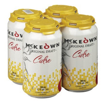 MCKEOWN, CIDRE 5.7% DRAFT EN CANETTES, 4X355ML