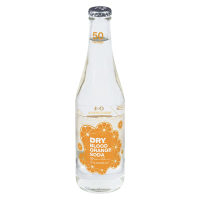 DRY SPARKLING SODA ORANGE SANGUINE 355 ML