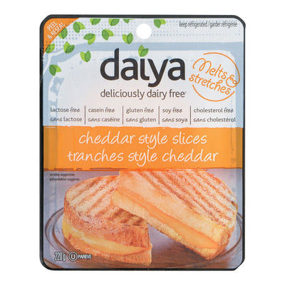 DAIYA FROMAGE TRANCHES DAIRY FREE CHEDDAR 220 G