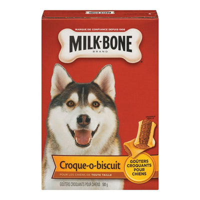 MILK BONE GATERIE CHIEN MOELLE  500 G
