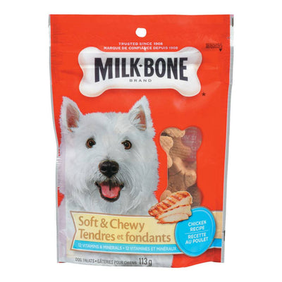 MILK BONE GATERIE CHIENS POULET  113 G