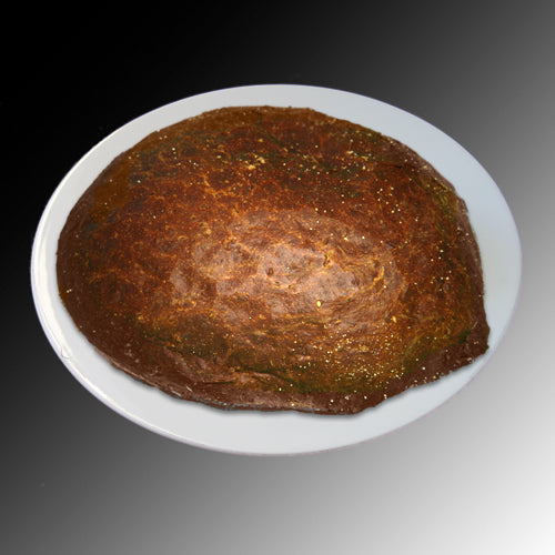 HOMEMADE KOSHER BAKERY, PAIN NOIR ROND TRANCHÉ, 600 G