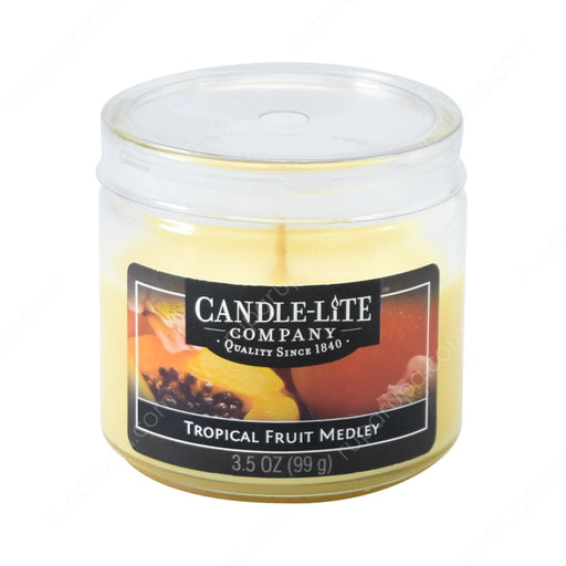 CANDLE-LITE, CHANDELLE FRUITS EXOTIQUES, 99G