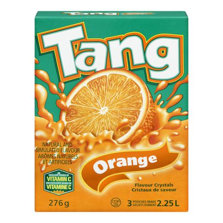 TANG CRISTAUX ORANGE, 3S, 276 g