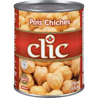 CLIC, POIS CHICHES, 796 ML