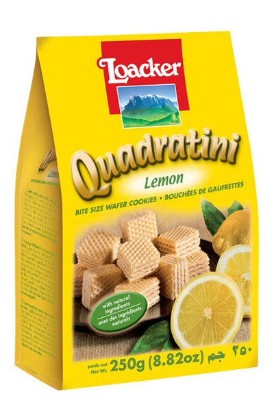 LOACKER QUADRATINI CITRON 250 G