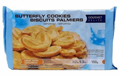 GOURMET BISCUIT PALMIERS 150 G